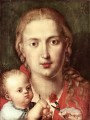 The Madonna of the Carnation Albrecht Durer