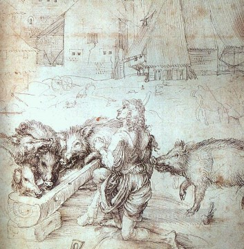 the Canvas - The Prodigal Son Nothern Renaissance Albrecht Durer