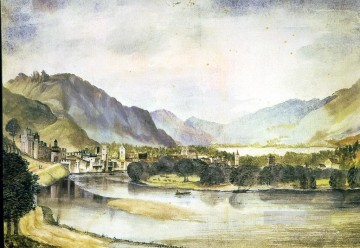 Albrecht Durer Painting - The city of Trento Albrecht Durer