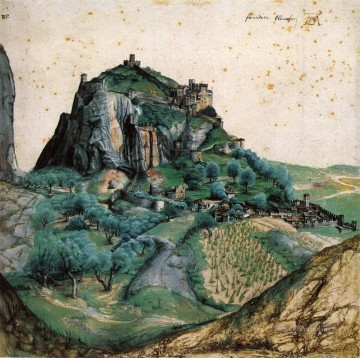 Albrecht Durer Painting - View of the Arco Valley in the Tyrol Albrecht Durer