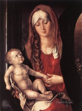 Virgin Painting - Virgin and Child before an Archway Albrecht Durer