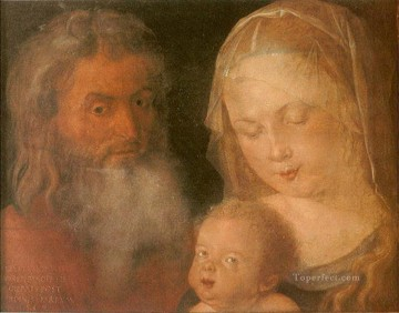 Holy Family Albrecht Durer Oil Paintings