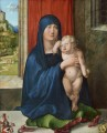 Madonna and Child Haller Madonna Albrecht Durer