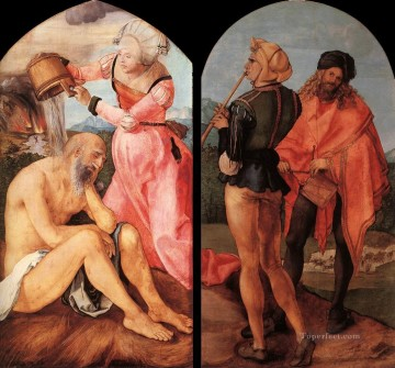 Altarpiece Painting - The Jabach Altarpiece Albrecht Durer