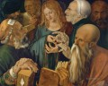Christ among the Doctors Albrecht Durer
