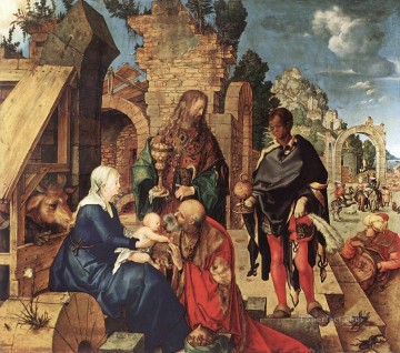 Adoration Art - Adoration of the Magi Albrecht Durer