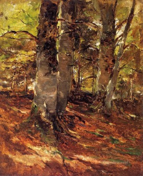 Beachwoods at Polling landscape Frank Duveneck Oil Paintings
