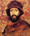 Fellow Artist in Costume portrait Frank Duveneck