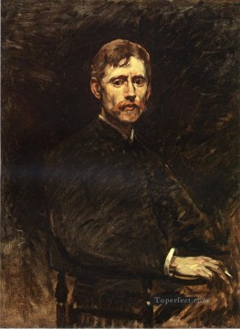 Portrait of Emil Carlson portrait Frank Duveneck Oil Paintings