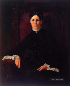 Portrait of Frances Schillinger Hinkle portrait Frank Duveneck Oil Paintings
