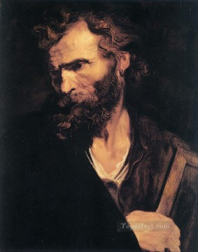 Apostle Art - Apostle Jude Thaddeus Baroque court painter Anthony van Dyck