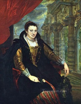 Anthony van Dyck Painting - Isabella Brandt Baroque court painter Anthony van Dyck