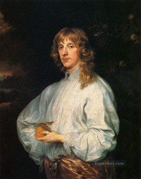 Anthony van Dyck Painting - James Stuart Duke Of Richmond Baroque court painter Anthony van Dyck