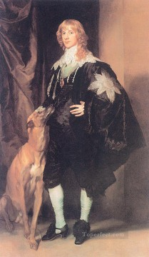 Anthony van Dyck Painting - James Stuart Duke of Lennox and Richmond Baroque court painter Anthony van Dyck