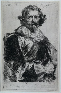 Lucas Vorsterman Baroque court painter Anthony van Dyck Oil Paintings