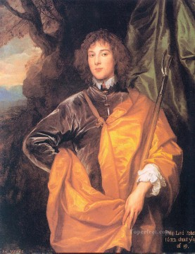 baroque - Philip Fourth Lord Wharton Baroque court painter Anthony van Dyck