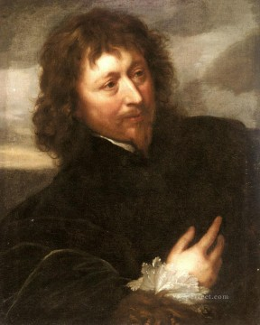 Anthony van Dyck Painting - Portrait Of Endymion Porter Baroque court painter Anthony van Dyck