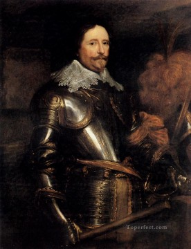 Anthony van Dyck Painting - Portrait Of Frederik Hendrik Baroque court painter Anthony van Dyck