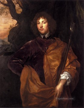 Anthony van Dyck Painting - Portrait Of Philip Lord Wharton Baroque court painter Anthony van Dyck