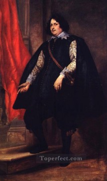baroque - Portrait of a Gentleman Baroque court painter Anthony van Dyck