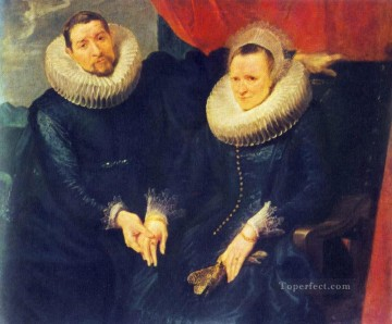Anthony van Dyck Painting - Portrait of a Married Couple Baroque court painter Anthony van Dyck