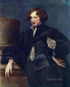 Anthony van Dyck Painting - Self Portrait2 Baroque court painter Anthony van Dyck