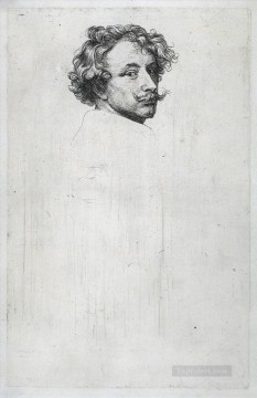 baroque - Self portrait 1630 Baroque court painter Anthony van Dyck