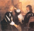 Thomas Killigrew and William Lord Crofts Baroque court painter Anthony van Dyck