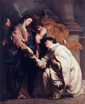 Anthony van Dyck Painting - Blessed Joseph Hermann Baroque court painter Anthony van Dyck
