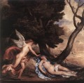 Cupid and Psyche Baroque court painter Anthony van Dyck