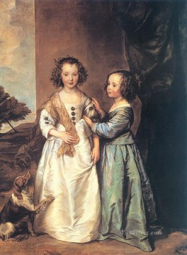 Philadelphia and Elizabeth Wharton Baroque court painter Anthony van Dyck Oil Paintings