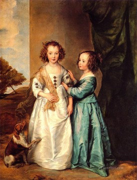 Anthony van Dyck Painting - Wharton Sisters Baroque court painter Anthony van Dyck