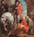 St Martin Dividing his Cloak Baroque court painter Anthony van Dyck