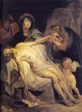 baroque - The Lamentation Baroque biblical Anthony van Dyck