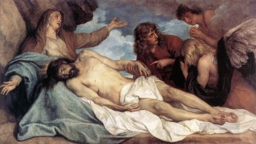 baptism of christ Painting - The Lamentation of Christ Baroque biblical Anthony van Dyck