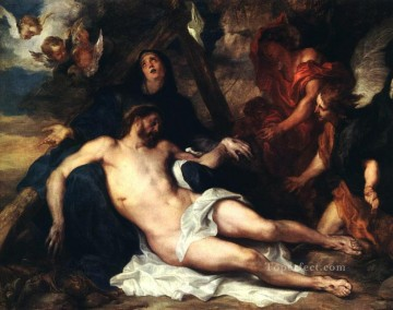 Deposition Baroque biblical Anthony van Dyck Oil Paintings