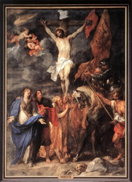 Anthony van Dyck Painting - Golgotha Baroque biblical Anthony van Dyck