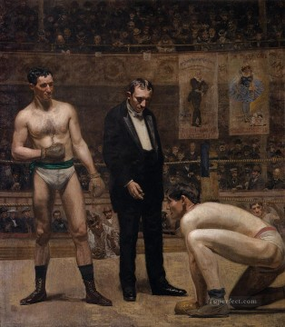 Taking the Count Realism Thomas Eakins Oil Paintings