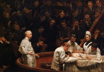 The Agnew Clinic Realism Thomas Eakins Oil Paintings