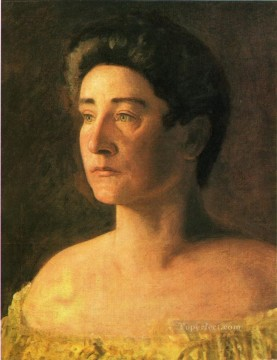 portraits Art Painting - A Singer Portrait of Mrs Leigo Realism portraits Thomas Eakins
