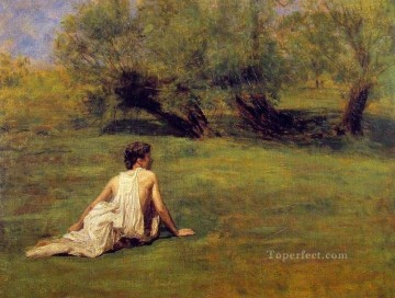 An Arcadian Realism landscape Thomas Eakins Oil Paintings