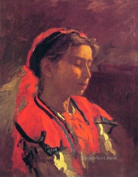 Thomas Eakins Painting - Carmelita Requena Realism portraits Thomas Eakins