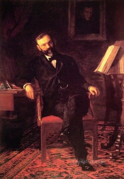Dr John H Brinton Realism portraits Thomas Eakins Oil Paintings