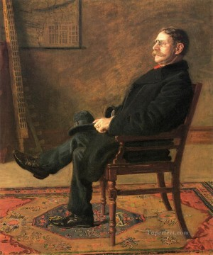 Frank Jay St John Realism portraits Thomas Eakins Oil Paintings