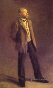 MC Oil Painting - John McLure Hamilton Realism portraits Thomas Eakins