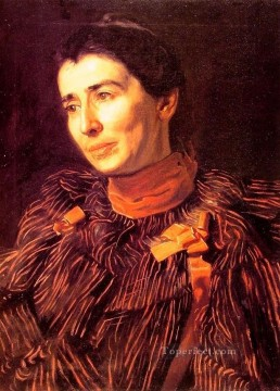 Thomas Eakins Painting - Mary Adeline Williams Realism portraits Thomas Eakins