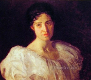 Miss Lucy Lewis Realism portraits Thomas Eakins Oil Paintings