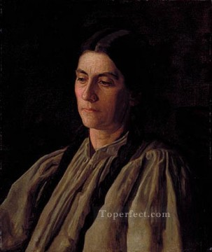realism - Mother Annie Williams Gandy Realism portraits Thomas Eakins