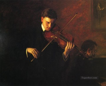 Thomas Eakins Painting - Music Realism portraits Thomas Eakins