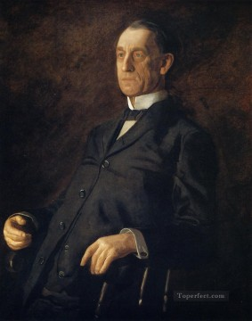 Thomas Eakins Painting - Portrait of Asburyh W Lee Realism portraits Thomas Eakins